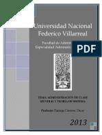 Administracion de Clase Mundial y Teoria de Sistema (1)