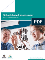 School-based Assess Qld Sys