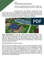 Model Proiect Off Grid Community