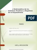 PANSS - Escala Sindromática de los Síntomas Positivos y Negativos de la Esquizofrenia