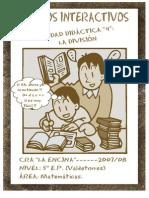 UNIDAD DIDÁCTICA 4 LA DIVISIÓN