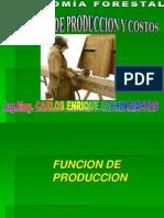 2.1 Funciones de Produccion y Costos