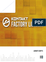 Kontakt 5 Factory Scripts English