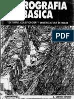 Castro Dorado, 1989. Petrografia Basica, Textura, Clasificacion y Nomenclatura de Rocas