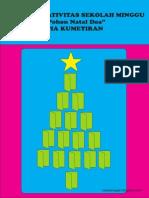 """Bahan Kreativitas """"Membuat Pohon Natal Doa"""" PIA Kumetiran"""