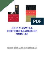 john maxwell leadership modules 2