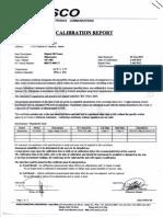 calibration sample