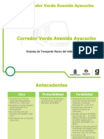 Corredor Verde Ayacucho