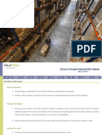 Integrated Cold Chain Industry 2013-2017, Sector Research Report by ValueNotes