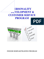 personality development  customer service