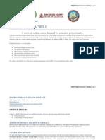 Draft Digital Literacies 1 Syllabus MOOC