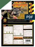 Heavy Gear DP9-100 - Demo Game
