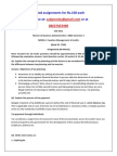 MF0012 – Taxation Management