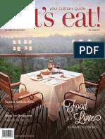 Vol-51 let's eat! Magazine