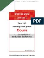 Cours 1-5_Sociologie Des Genres_L2-1