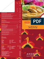 Red Turban Menu