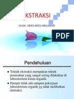 EKSTRAKSI-PELARUT
