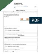 PC1431 MasteringPhysics Assignment 2
