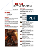Kill Team List - Chaos Space Marines v2.2