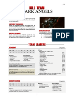Kill Team List - Dark Angels v2.2