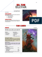 Kill Team List - Eldar v2.1