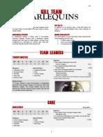 Kill Team List - Harlequins v2.0