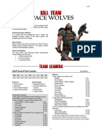Kill Team List - Space Wolves v1.2