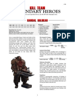 Kill Team Rules - Legendary Heroes v2.0