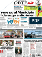 Periódico Norte de Ciudad Juarez 4 de Diciembre de 2013