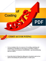 Methods of Costing