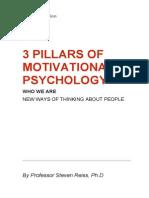 3 Pillars of Motivational Psychology