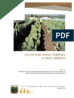 Manual Para Cultivo de Nopal Verdura - Alexia