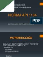 NORMA API 1104