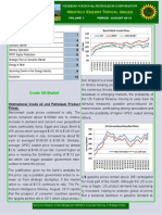Energy Topical Issues - August 2013