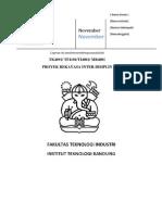 Format Laporan Projek Rekayasa Interdisiplin