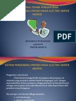 Sistem Pengendali Proses Pada Electric Water Heater