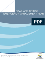 State Road and Bridge Emergency Management Plan