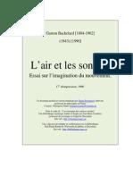 Gaston Bachelard - Air Et Les Songes