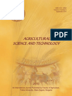 03_Evaluation of the Stability and Adaptability of the Bulgarian Lavender (Lavandula Angustifolia Mill.) Sorts Yield