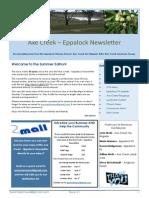 Axe Creek Eppalock Newsletter Issue 41