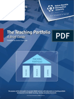 Teaching Portfolio Guide