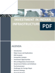 Investment in Indian Infrastructure Sector
