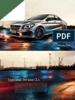 Mercedes Benz Cla Class c117 Brochure 01 1031