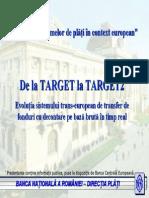 Evoluţia sistemelor de plăţi în context european