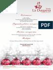 Menus Navidad 2013 - La Duquesa
