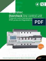 Cpt Cirprotec v2 Unidad de Control de Linea Overcheck
