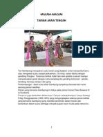 Tarian Jawa Tengah