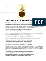 Rudraksha is the Symbol of Godhood