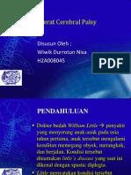 PPT Referat Cerebral Palsy