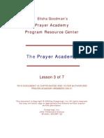 Prayer Academy LESSON-3
